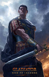 Gladiator: Rise of Legends - Praetor by Rob-Joseph