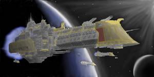 Battlefleet gothic by 531st