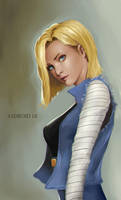 Android 18 by phamoz