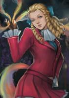 Karin Kanzuki by phamoz