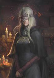Dark Souls 3 - Fire keeper by phamoz