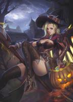 Halloween Mercy by phamoz