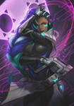Overwatch - Sombra by phamoz