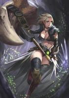 Monster Hunter World - Hammer by phamoz