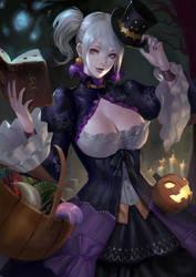 Halloween Hub Lass by phamoz