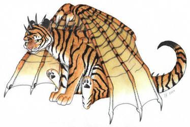 Tiger Dragon by VeroRamos