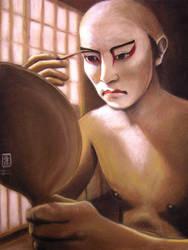 A Kabuki Actor by salmonj