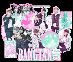 +Bangtan Boys by xDaebak