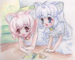 Anime Twins by Mini-Artiste