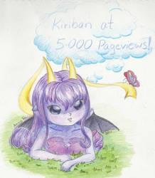 +Kiriban at 5 000 Pageviews+ by Mini-Artiste
