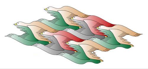 Duck Flying Pattern - Mark Stapel by mstapel