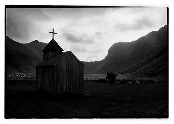 Lonely church by AnteAlien