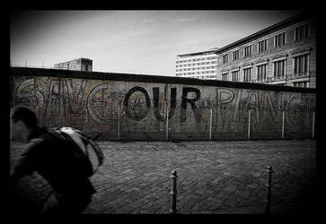 Berlin wall by AnteAlien