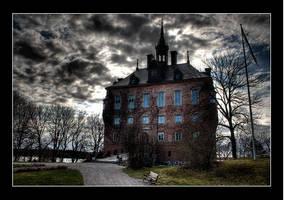 Spooky Castle - spring by AnteAlien