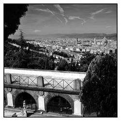 Italy Firenze view by AnteAlien