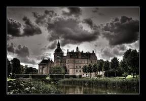 Danish castle by AnteAlien