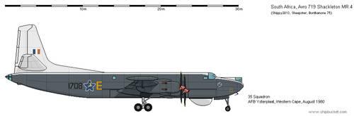 Avro 719 Shackleton MR.4 [SA-AH] by the-roast