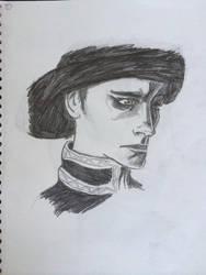 Umasked Bandit by leahlahey