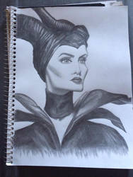 Maleficent by leahlahey