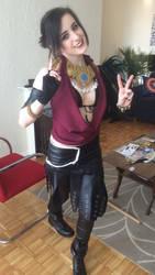 Morrigan cosplay by leahlahey