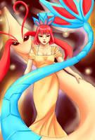 Milotic by lady-leliel