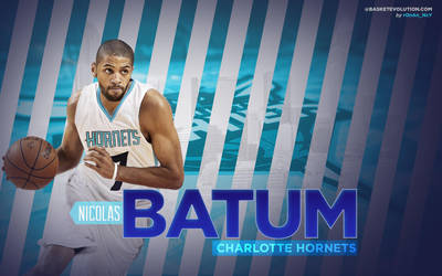 Nicolas Batum Charlotte Hornets Wallpaper by rOnAn-Ncy