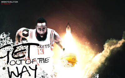 James Harden Wallpaper : Get out of the Way by rOnAn-Ncy