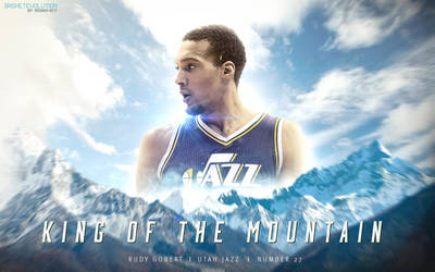 Gobert Jazz : King of the Mountain by rOnAn-Ncy