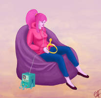 Princess Bubblegum by Garula