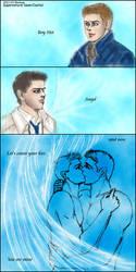 SPN Dean Cas 'You are mine' by noji1203