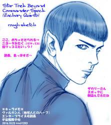 Star Trek Beyond Spock by noji1203