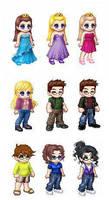 Random Avatars by Princess-Selia