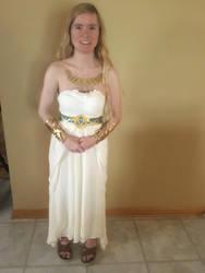 BotW Zelda White Dress Cosplay by Princess-Selia