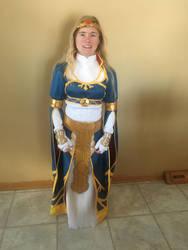 BotW Zelda Royal Dress Cosplay 1 by Princess-Selia