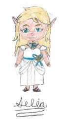 Lily White Dress by Princess-Selia