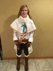 BotW Zelda Winter Outfit Cosplay 1 by Princess-Selia