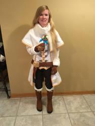BotW Zelda Winter Outfit Cosplay 2 by Princess-Selia