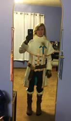 BotW Zelda Winter Outfit Cosplay 3 by Princess-Selia