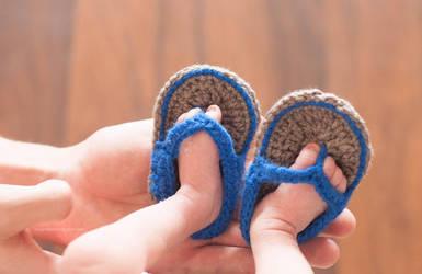 little flip-flops by pepapigo