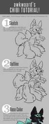 chibi tutorial! by awkwaard