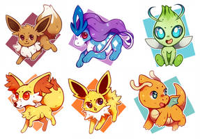 pokecember 1 - 6 by awkwaard