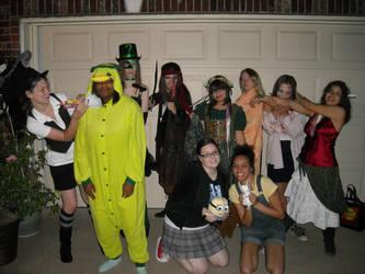 Halloween Party by VampireThe-Shadow