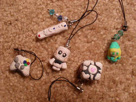 Cell phone fobs by Sirithre