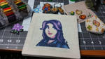 Stardew Valley - Abigail Character Portrait by Sirithre