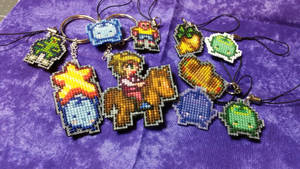 Stardew Valley Keychain Commissions by Sirithre