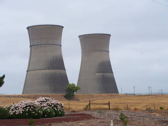 Cooling Towers by tkrain-stock
