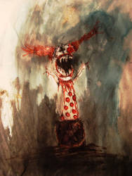 Clowns Aren't Scary by Jackovdaily