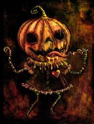 Lil' Pumpkin Girl by Jackovdaily
