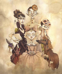 MEET THE CREEP FAMILY 2013 by GrisGrimly