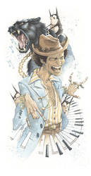 Bruno Mars by GrisGrimly